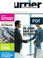 Le-Courrier-economique- magazine économique Yvelines Val d'Oise n°-113-mai-juin-2009