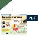 Journalists in war zones