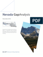 Nevada Gap Analysis MASTER