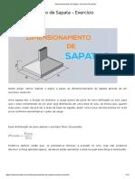 Dimensionamento+de+Sapata