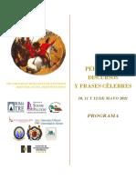 PROGRAMA VIII JORNADAS ESTUDIOS HISPANICOS MAYO2021