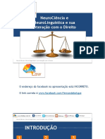 A interação entre o Direito, a Neurociência e a Neurolinguística