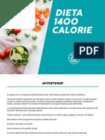 Dieta 1400 Calorie Fitprime