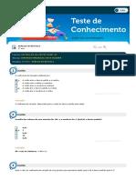 Análise Estatística - Simulado - Respondido - Ciências Contábies (1)