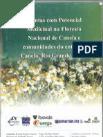 Livro Plantas com potencial medicial