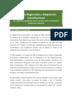 Diálogos Regionales y Adaptación Constitucional