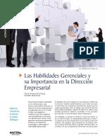 13.Las Habilidades Gerenciales y dirección