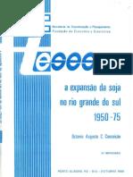 Conceição 1984 - A Expansão Da Soja No Rio Grande Do Sul - Copia