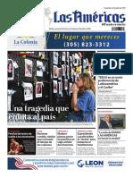 Portada de Diario Las Américas Viernes 2 de julio 2021