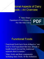Functional Aspects of Dairy Foods - An Overview