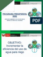 1. PP 0042 OBJETIVOS Y METAS