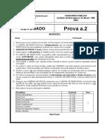 Prova A2 - Advogado IRB Brasil Resseguros S.a. 2004