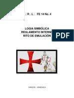 REGLAMENTO INTERNO MRL FE14NO4