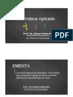 Informática Aplicada aula1