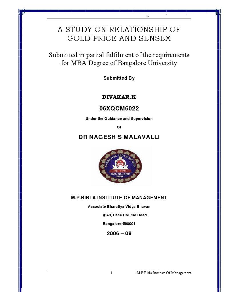Relationship between gold price sensex stock market index relationship between gold price sensex stock market index recession buycottarizona Images
