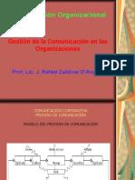Comunicacin organizacional