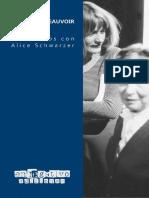 Beauvoir, Simone (2021) - Encuentros con Alice Schwarzer