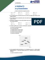 Ejercicios Funciones y Ecuaciones UNT