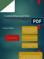 Control difuso en el Perú