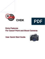 CHDK - Canon Hack Development Kit Manual