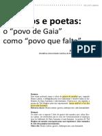 Juliana Fausto Terranos e poetas
