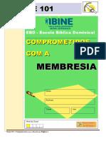 CLASSE 101 - Comprometidos com a membresia - com células