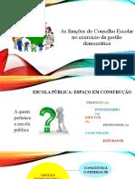 As funções do Conselho Escolar