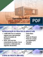 Aula 01 - Expressão Gráfica II -  2020.1