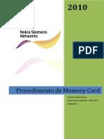 Procedimento Memory Card 3255