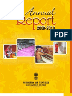 annual report textile industry