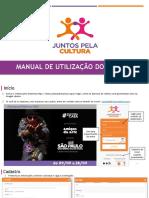 Manual de Utilizacao Do Sistema Juntos Pela Cultura 2021