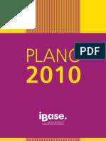 IBASE - Plano 2010