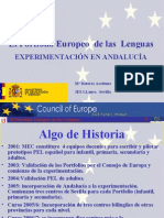 Experiencia PEL Andalucia