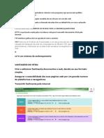 DICAS DE HTML