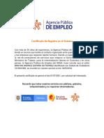 Brayan España- Agencia Pública de Empleo Sena