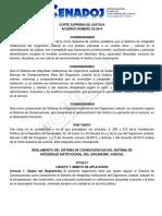 Acuerdo 22-2014 Reglamento Del Sistema de Consecuencias de Integridad Institucional Del OJ
