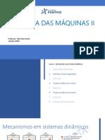 Dinamica Das Maquinas 2 - Aula 8