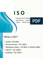 ISO Presentation