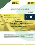 GUIA DEL ESTUDIANTE-UNIDAD II DESARROLLO PERSONAL S1 2020