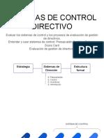 Notas de clase CONTROL DIRECTIVO