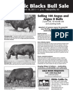 Ohlde Cattle Co Sire Directory 2011