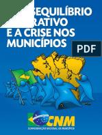 O Desequilíbrio Federativo e a Crise Nos Municípios (2013)