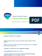 Skipso Monthly Digest March - Cleantech Grants, Awards, Incentives
