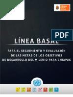 Línea Basal de los ODM para Chiapas