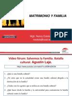 Diapositivas. Tema 12. Matrimonio y Familia