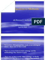 From_Objectives_to_Methods_Methodology_and_methods