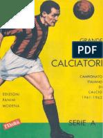 Edizioni Panini - Campionato.1961.1962.