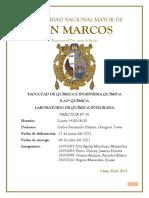 INFORME DE LABORATORIO N° 06 ENLACE QUÍMICO Y RELACIONES CUANTITATIVAS