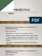 Hermeneutica Bíblica- Parte 3