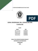 Pemeriksaan Parameter Air & Udara Ozon, Kekeruhan Dhl, Koagulasi Dan Flokulasi